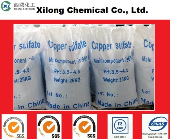 Manufacturer Supply Industrial Grade Copper Sulfate Pentahydrate with Good Price