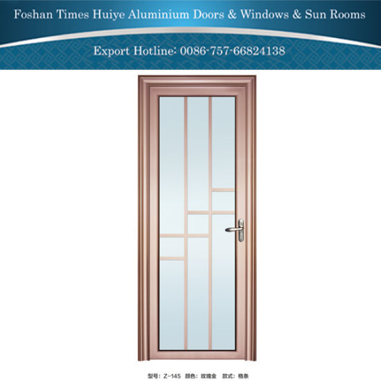 DIY Design Aluminum Aluminium Interior Bathroom Door Z 145