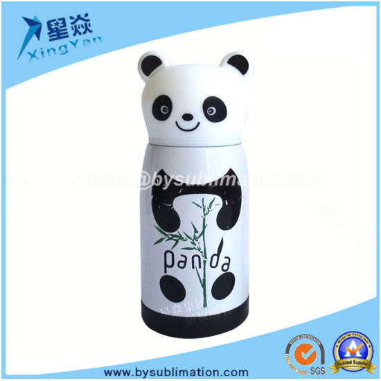 Lovely Panda Sublimation Thermos Flask (BY-FTB-08) pictures & photos