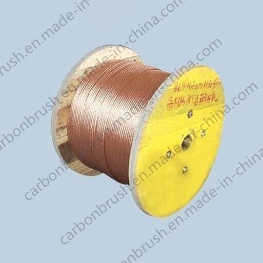 Supplying round copper wire used in carbon brushes pictures & photos