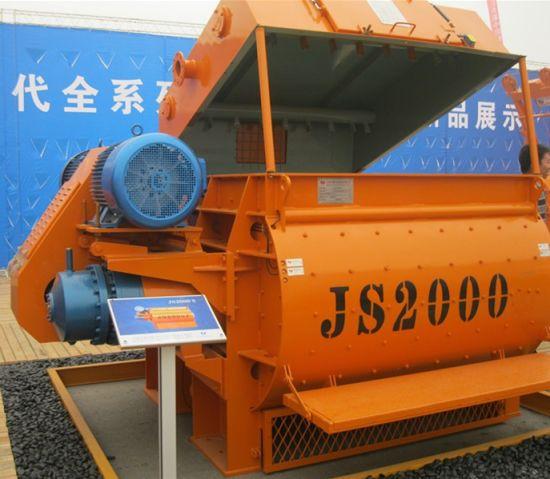 Ce Certification Product Js2000 Concrete Mixer Machine