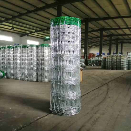 Cow Farm Guard Galvanized Cattle Fence with Green Color PVC
