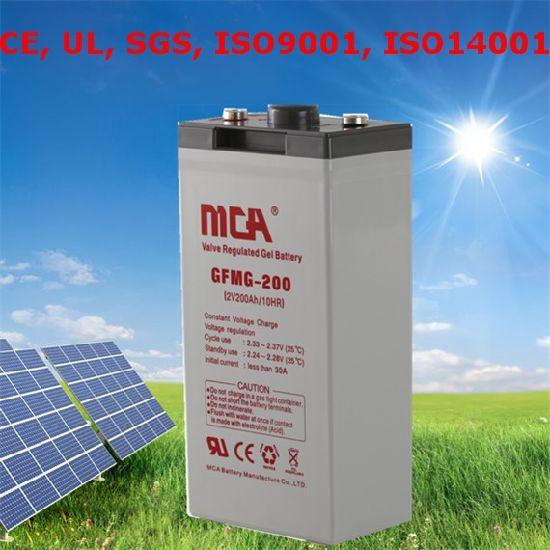 Lead Acid Battery AGM Battery Backup Battery 2V 200ah