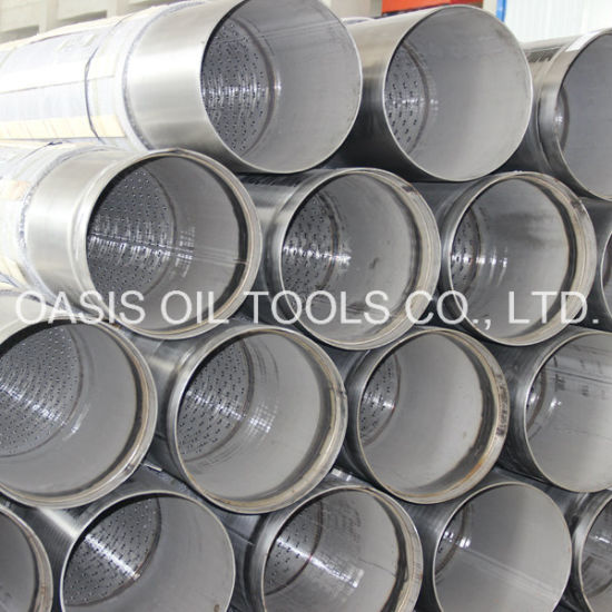 Stainless Steel 316L Pipe Base Screen pictures & photos