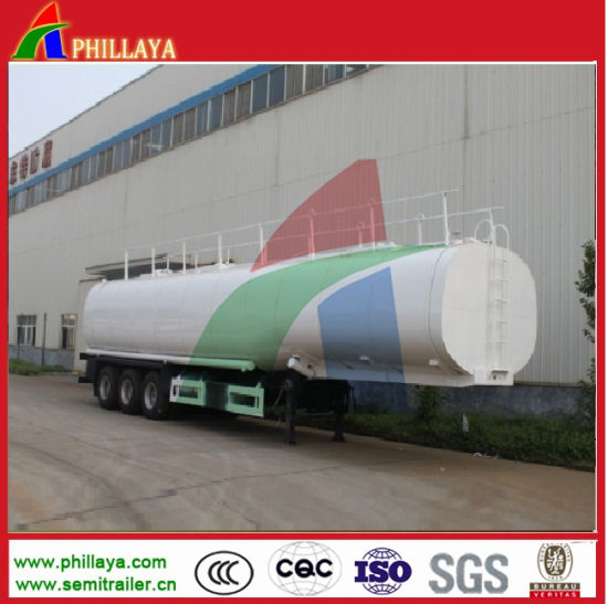 38000liters Asphalt Tank Semi Trailer with Heating pictures & photos