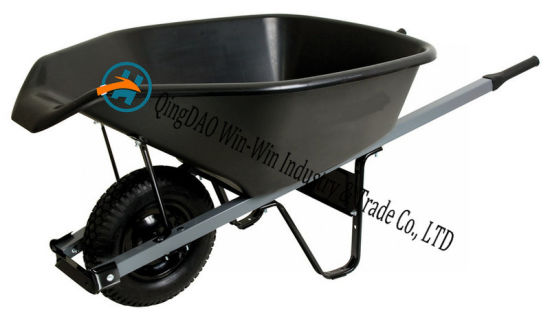 6 Cubic Foot Poly Wheelbarrow with Pour Spout pictures & photos