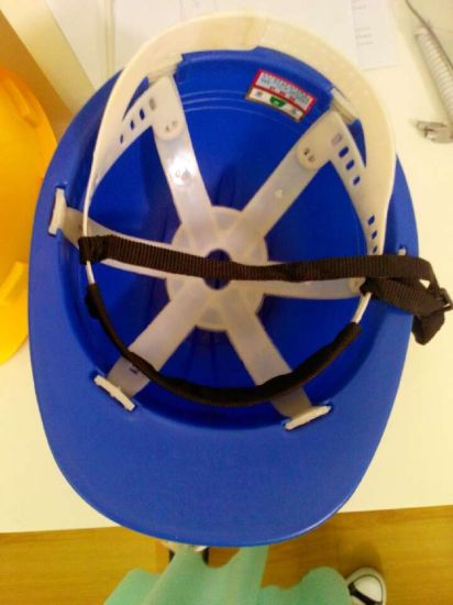 PP Shell Custom American Industrial Safety Helmet pictures & photos