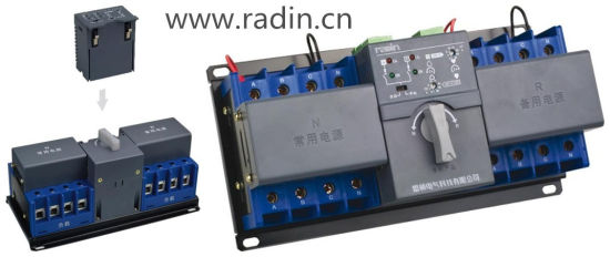 Wind Power Automatic Transfer Switch MCB Type ATS for Generators pictures & photos