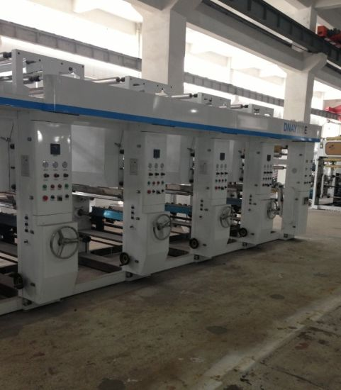 Multi-Color Rotogravure Printing Machine (DNAY1100G Model) pictures & photos