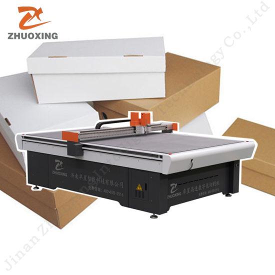 CNC Digital Box Making Machine for Cutting Corrugated Paper Board/Rigid Grey Board/Cardboard Carton Sample Maker Flatbed Cutter Plotter with Ce Not Die Machines