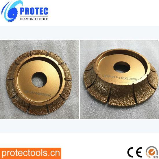 Vacuum Brazed Profile Wheels/Diamond Profile Wheels/Profile Grinding Wheels/Diamond Tools/Diamond Profile/Profile Wheels/Vacuum Brazed Tools/Grinding