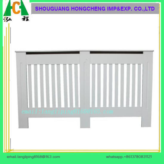 White Painting Radiator Heater Cover for UK Market, MDF Radiator Cover pictures & photos
