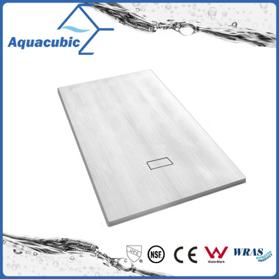 Sanitary Ware 1200*700 High Quality Stone Surface SMC Shower Base (ASMC1270S) pictures & photos