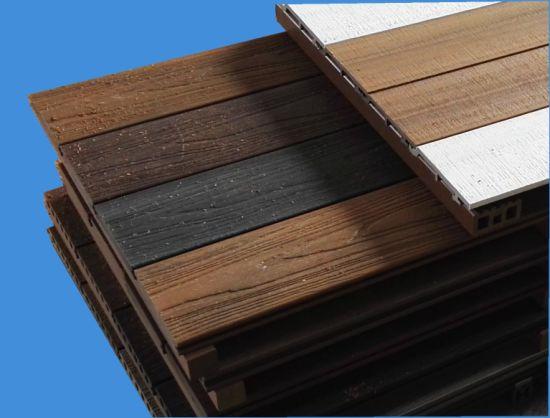Second Generation Capped Wood Plastic Composite Decking Flooring