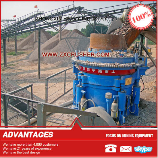 100 Tph Pebble Stone Crushing Line pictures & photos