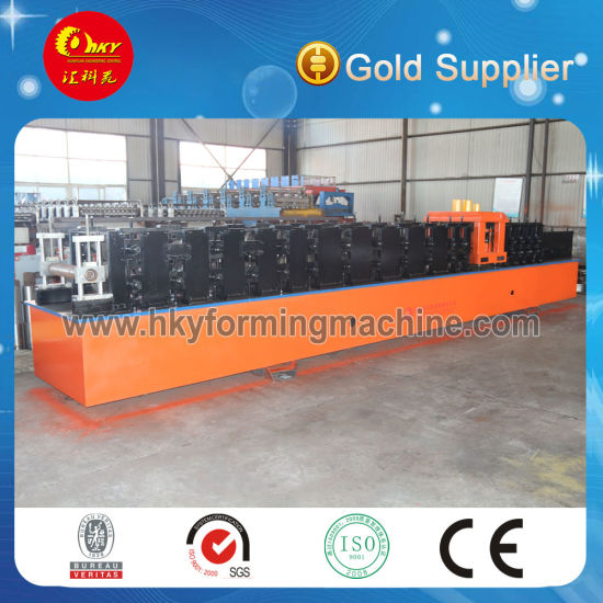 High Quality Building Struction Use Steel C Z Purlin Roll Forming Machine