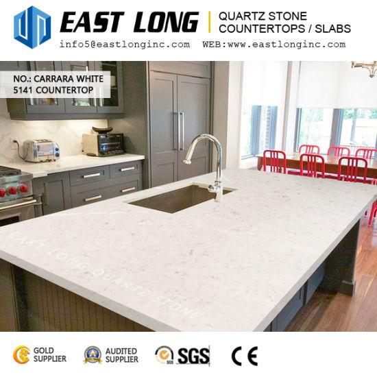 Beautiful Carrara White Quartz Stone