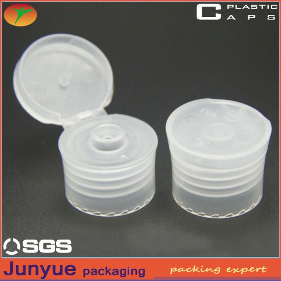 24/410 Top Press Disc Top Lid for Cosmetic Plastic Bottle pictures & photos