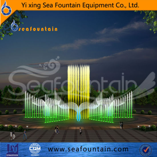 Dry Interactive Fountain Natural Slate Floor Fountain pictures & photos