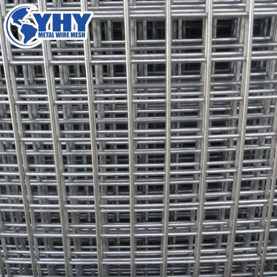 China 10 Gauge Black Welded Wire Fence Mesh Panel - China Welded ...