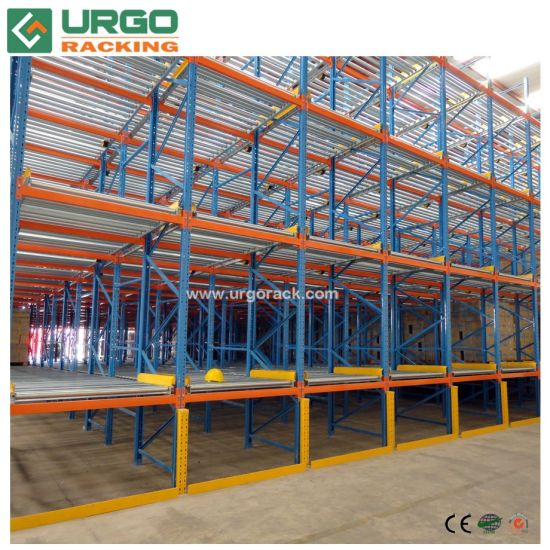 Warehouse Storage Pallet Flow Racking Roller Gravity Pallet Rack