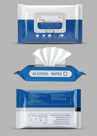 100% Eco-Friendly Baby Brands Wet Wipes75% Alcohol Wipes80PC Cleaning Wet Wipessterilize Wet Wipes70ipa Wet Wipes