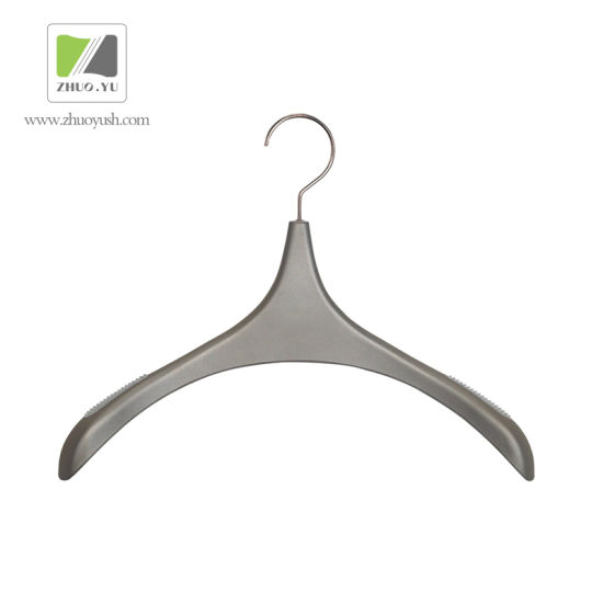 High Neck Plastic Clothes / Top Hangers / Plastic Pants Hanger