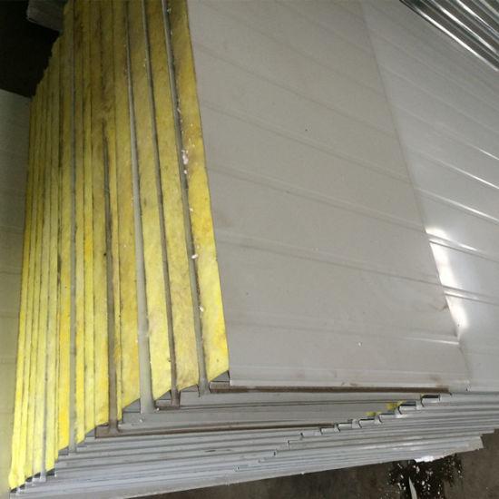 China Wall Material Fireproof EPS/Rockwool/Glasswool Sandwich Wall ...