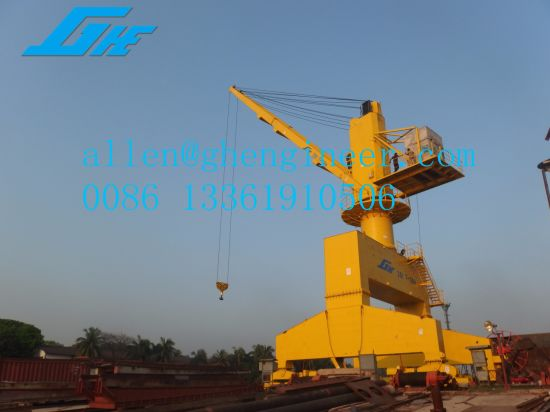 China Ghe Liebherr Harbour Crane Zmpc Price Hydraulic System - China