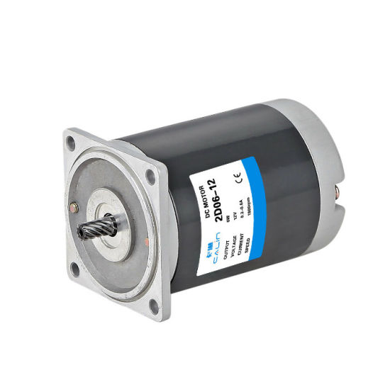 12V 6W 10W 15W 25W 40W 60W 90W 120W DC Electric Car Gear Motor