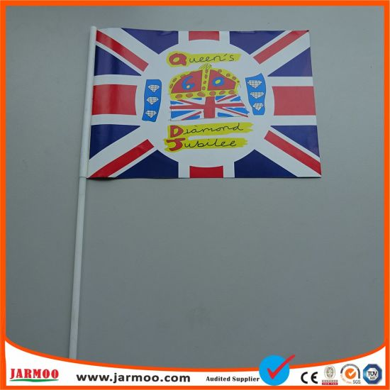 Promotional Canada Hand Shaking Flags with Pole pictures & photos