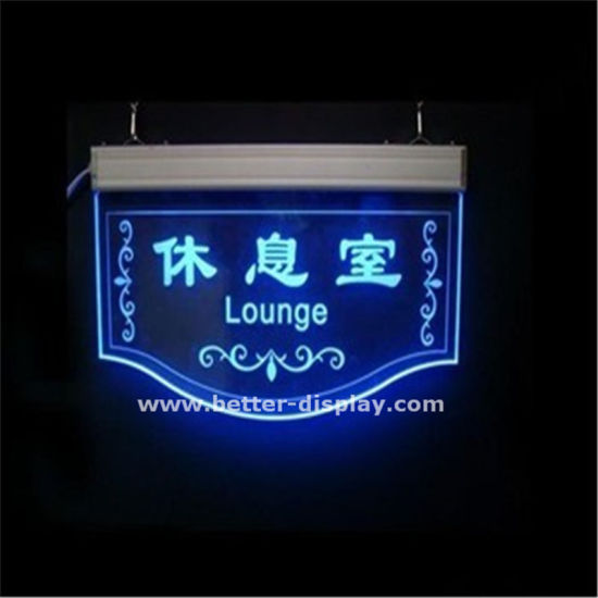 Acrylic LED Advertising Light Board