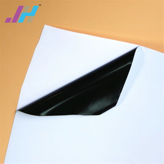 china hp latex self adhesive vinyl printing material 80 um 120 gsm