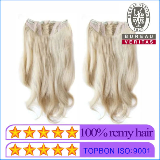 New Styles Single Layer Multi Clips Clip in Hair Extension pictures & photos