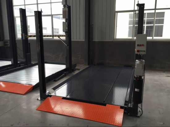 Four Upright/Column Car Parking Lifter with Reasonable Price
