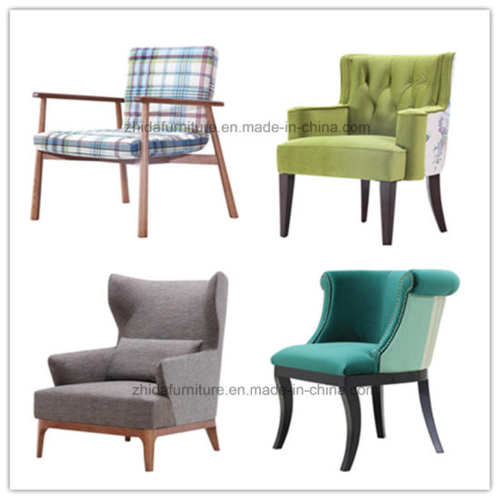 Modern Fabric Chair Living Room Leisure Arm Chair