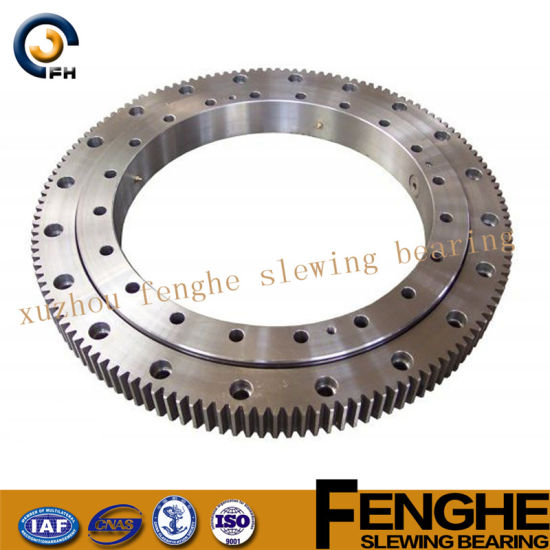 China Slewing Ring, High Quality Slewing Bearing for Conveyer, Komatsu, Single Row Ball Bearing pictures & photos