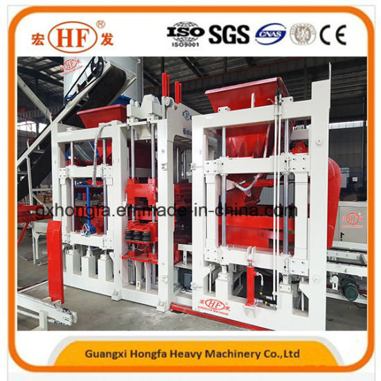 Cement Fly Ash Concrete Block Brick Making Machine pictures & photos