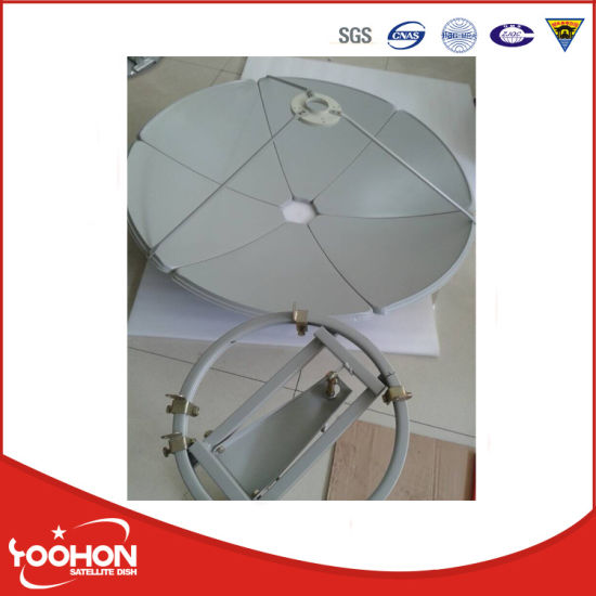1.2m Ku Band Satellite Dish Antenna with Wind Tunnel Certification pictures & photos