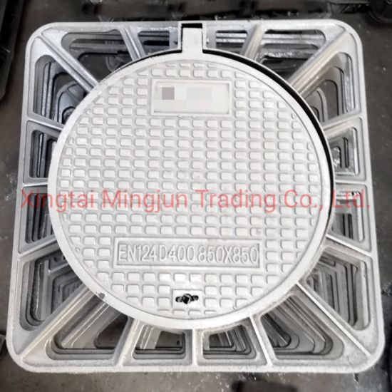 Factory Price En124 D400 Quality Square Manhole Cover Ductile Iron