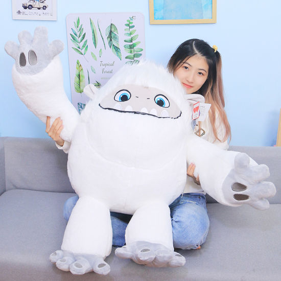 Wholesale Soft Halloween White Monster Get Well Stuffy Fabric Toy