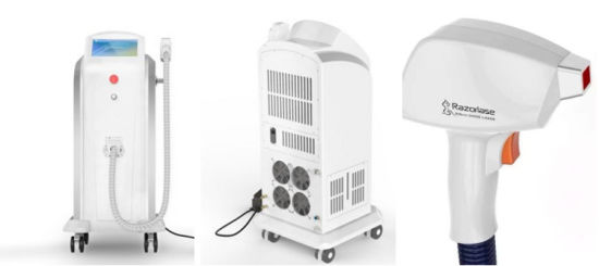 Germany Bars 808nm Diode Laser Hair Removal IPL Shr Painless Depilation Beauty Machine pictures & photos