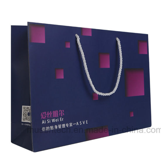 Hot Item High Quality Large Paper Bag For Clothes Ping Shoes With Logo Printing