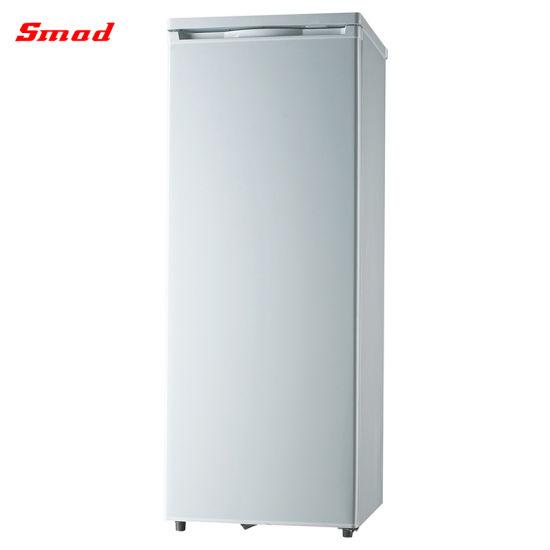 156L Solid Door Vertical Deep Freezer No Frost Freezer