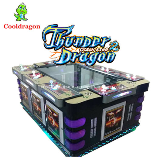China Fish Game Table Gambling Ocean King 2 Arcade Machines
