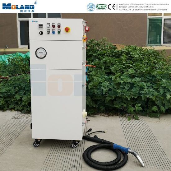 Automatic Cleaning Welding Fume Extractor with Environmental Protection Welding Gun