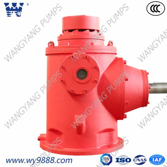 Right Angle Drive Gearbox for Diesel Engine Vertical Turbine Fire Pump