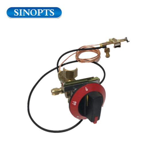 Fire Pit Control Gas Safety Valve with Thermocouple Pilot Burner