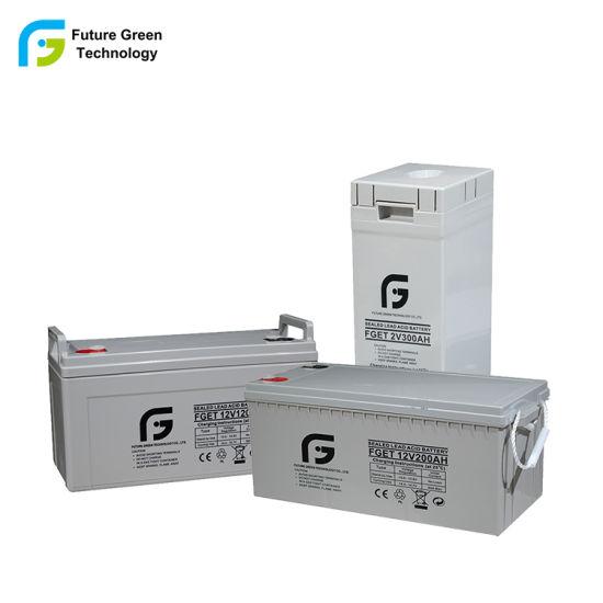 China Wholesale 12V 200ah Rechargrable Power Deep Cycle Battery