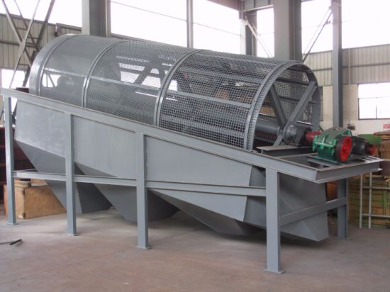 China Advertising Municipal Trommel Drum Sieve Screen (GTS) pictures & photos
